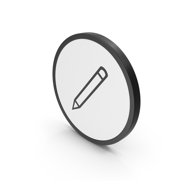 Computer: Icon Pencil PNG & PSD Images