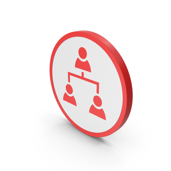 Computer: Icon People Connection Red PNG & PSD Images