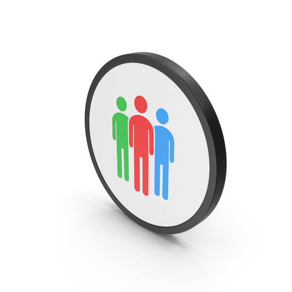 Logo: Icon People Group Colored PNG & PSD Images