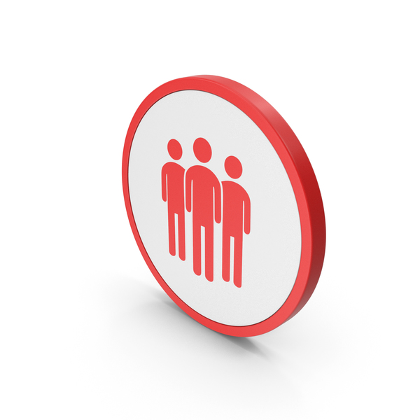 Logo: Icon People Group Red PNG & PSD Images