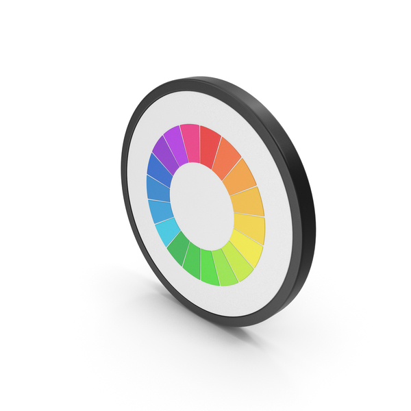 Icon Pie Chart Rainbow PNG & PSD Images