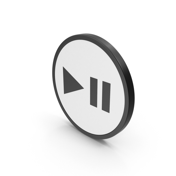 Icon Play Pouse Button PNG & PSD Images