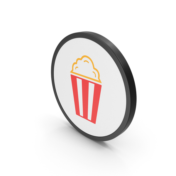 Icon Popcorn Colored PNG & PSD Images