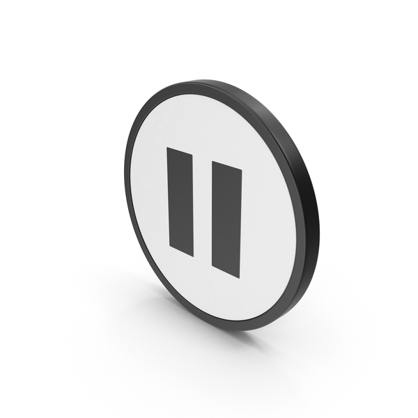 Icon Pouse Button PNG & PSD Images