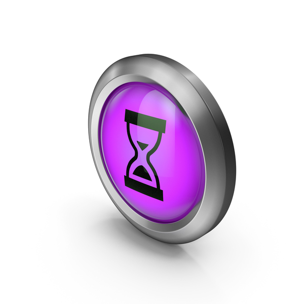 Icon Purple Hourglass PNG & PSD Images