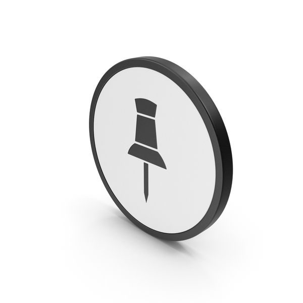Icon Push Pin PNG & PSD Images