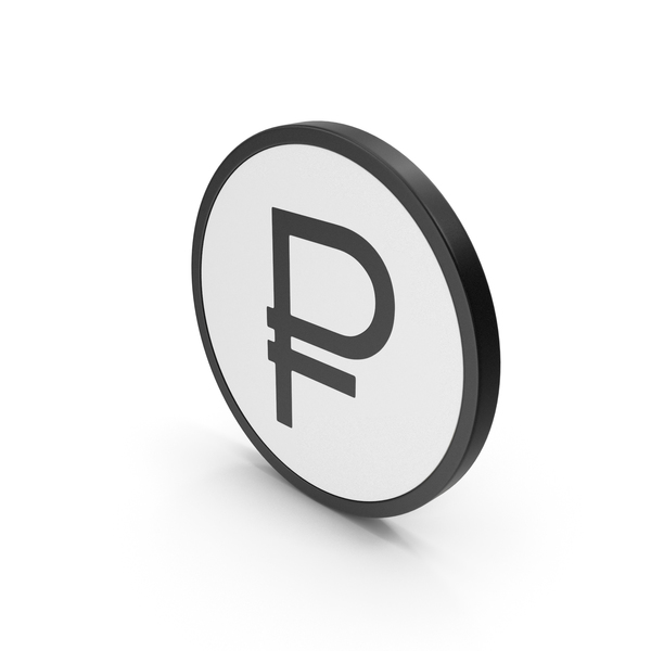 Icon Russian Ruble PNG & PSD Images