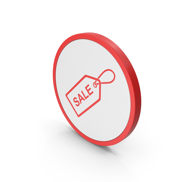 Logo: Icon Sale Label Red PNG & PSD Images