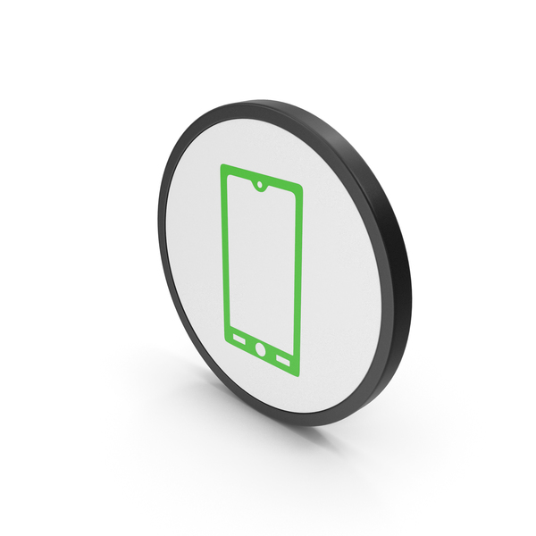 Logo: Icon Smart Phone Green PNG & PSD Images