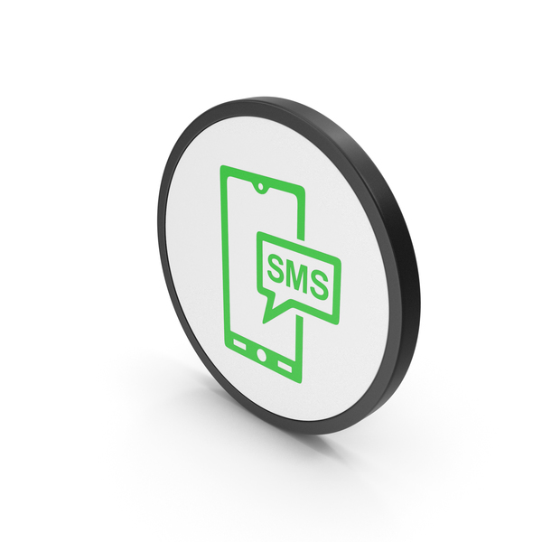 Computer: Icon SMS Message Green PNG & PSD Images