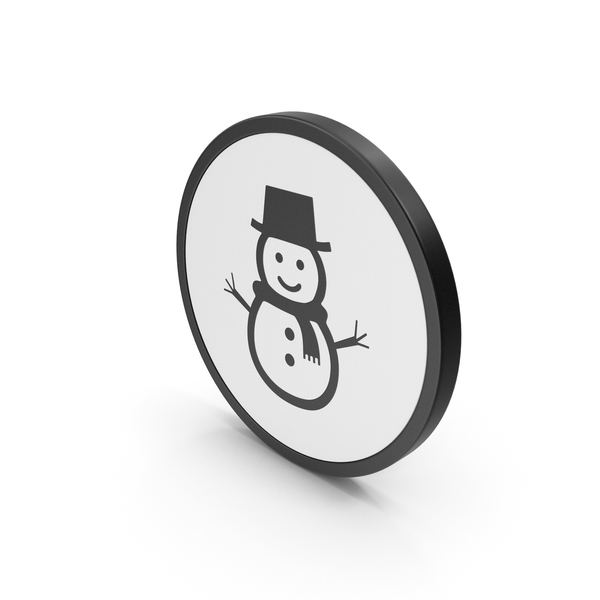 Logo: Icon Snow Man PNG & PSD Images