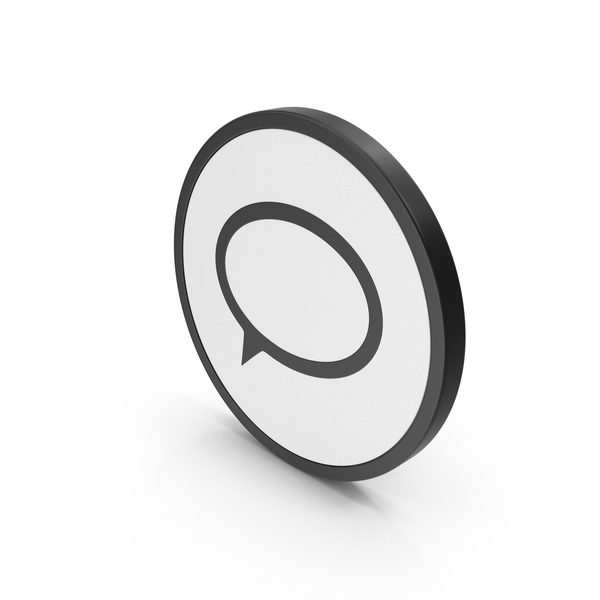 Computer: Icon Speech Bubble PNG & PSD Images