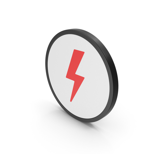 Meteorology Symbols: Icon Storm Red PNG & PSD Images