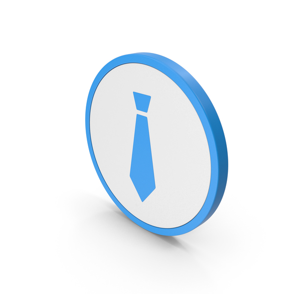 Icon Tie Blue PNG & PSD Images