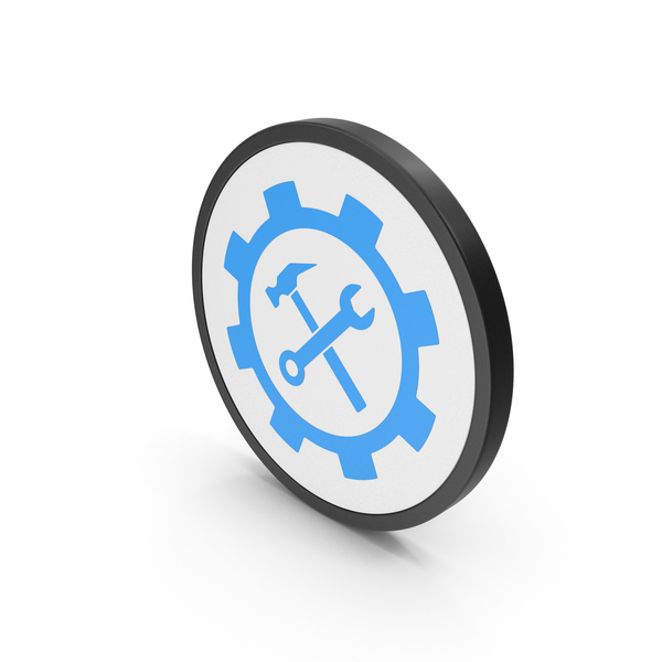 Logo: Icon Tools Blue PNG & PSD Images
