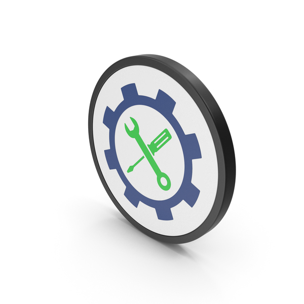 Logo: Icon Tools Green PNG & PSD Images