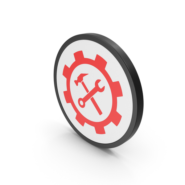 Symbols: Icon Tools Red PNG & PSD Images