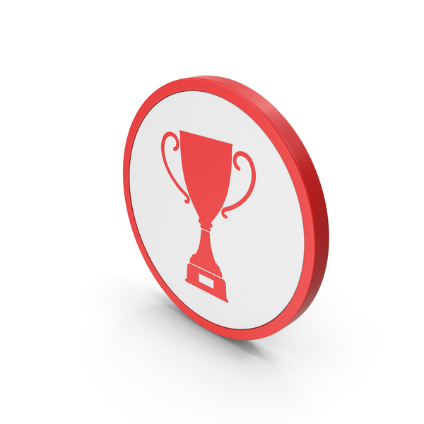 Logo: Icon Trophy  Cup Red PNG & PSD Images