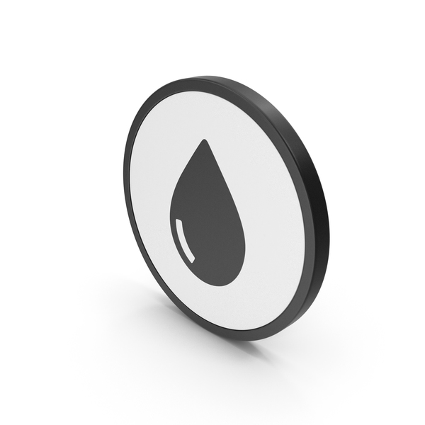 Wet Floor Sign: Icon Water Drop PNG & PSD Images
