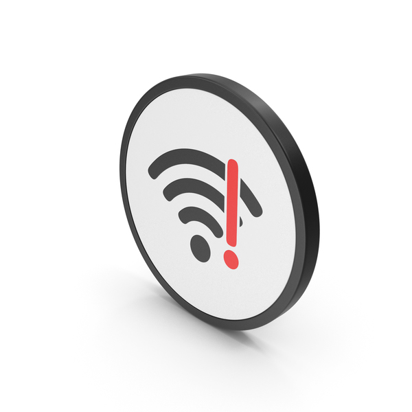Wi Fi: Icon WIFI Error Red PNG & PSD Images