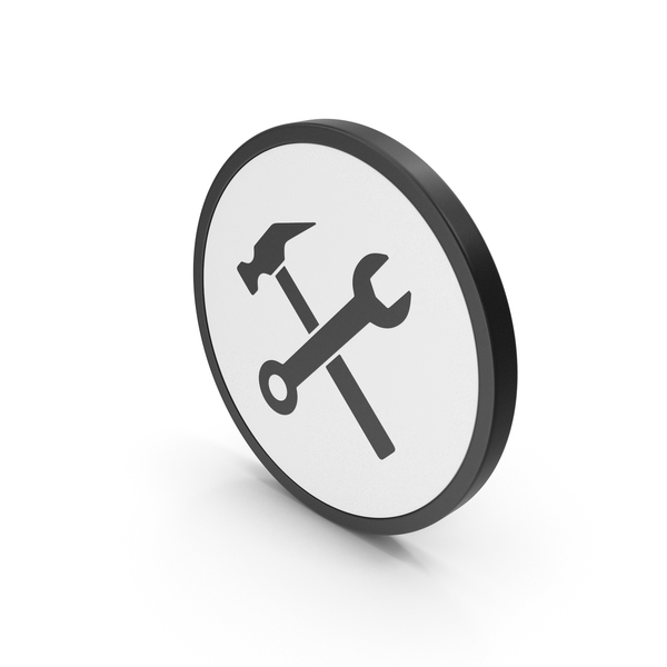 Logo: Icon Wrench And Hammer PNG & PSD Images
