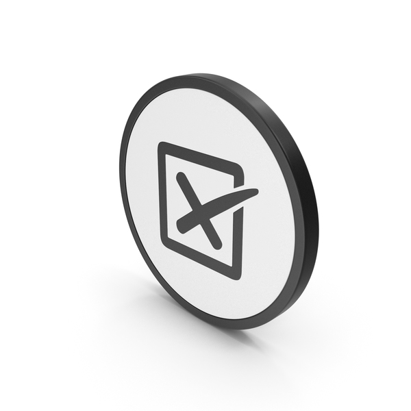 Icon X Mark Box PNG & PSD Images