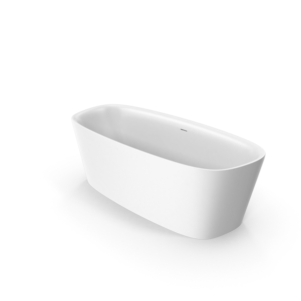 Bath: Ideal Standard Dea Fleestanding Oval Bathtub PNG & PSD Images