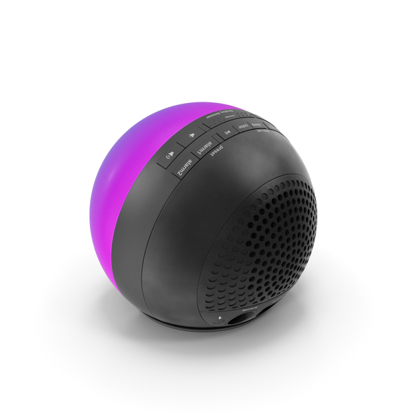 iHome iBT29 Wireless Bluetooth Phaze Clock Radio Purple PNG & PSD Images