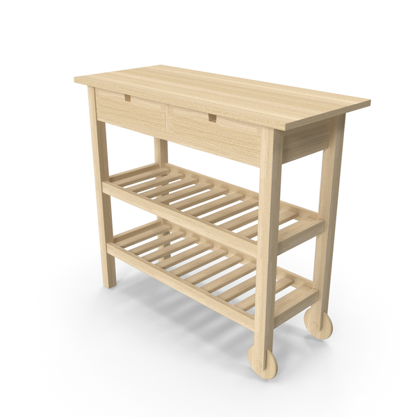 Kitchen Cart: Ikea Forhoja PNG & PSD Images