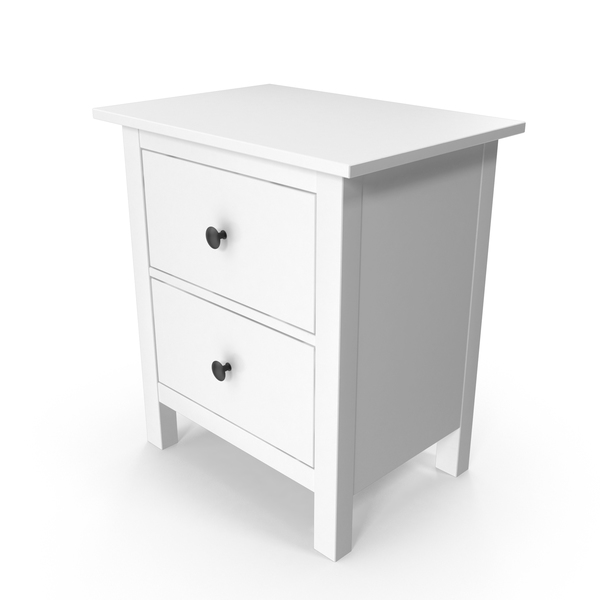 Night Stand: IKEA Hemnes Comod PNG & PSD Images