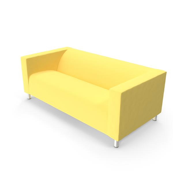 Ikea Kilppan Two-seat Sofa PNG & PSD Images