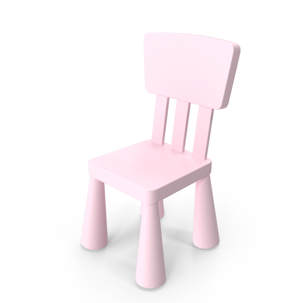 Ikea Mammut Chair Pink PNG & PSD Images