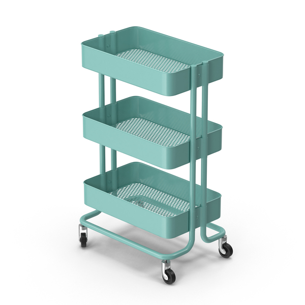 Ikea Raskog Utility Cart PNG & PSD Images