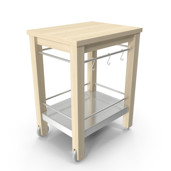 Kitchen Cart: Ikea Varde PNG & PSD Images