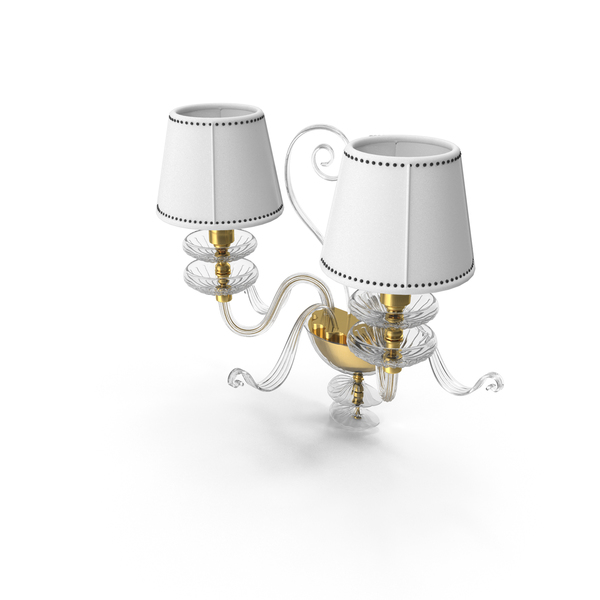 Il Parlaume Marina 1793 Classic Wall Lamp PNG & PSD Images