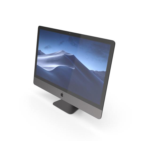 Computer: iMac Retina 5K Display Black PNG & PSD Images