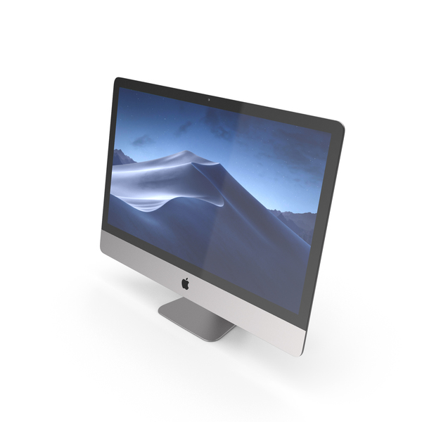 iMac Retina 5K Display Silver PNG & PSD Images