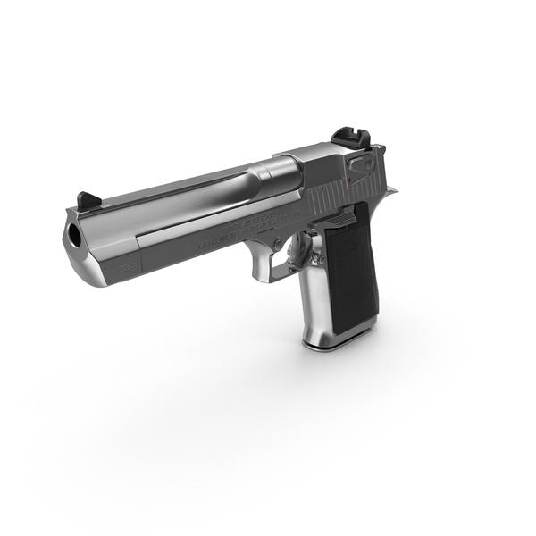 IMI Desert Eagle Pistol PNG & PSD Images