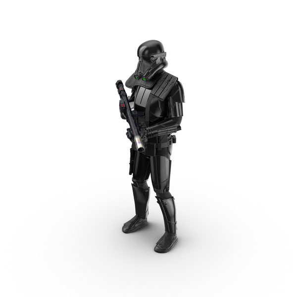 Soldier: Imperial Death Trooper Standing Pose PNG & PSD Images