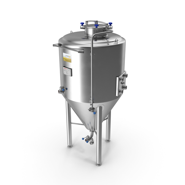 Industrial Spaces: Impiantinox Easybrau Velo Fermentation Tank PNG & PSD Images