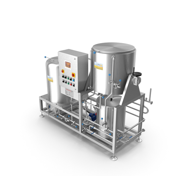 Manufacturing Machinery: Impiantinox Pocket Brau Microbrewery PNG & PSD Images