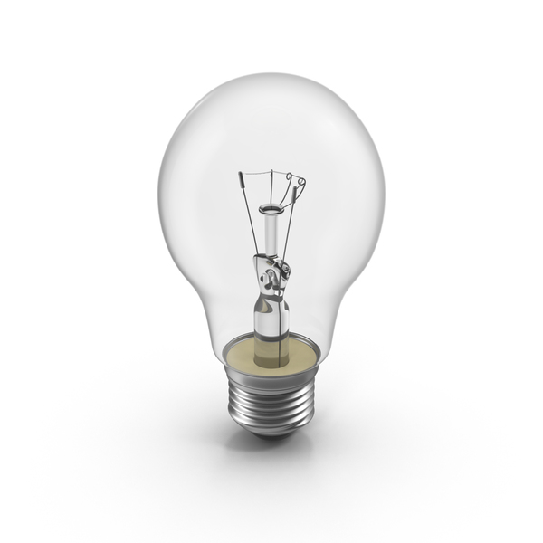 Incandescent Bulb PNG & PSD Images