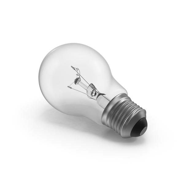 Lightbulb: Incandescent Bulb PNG & PSD Images