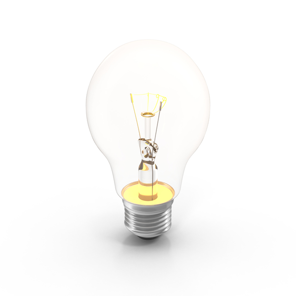 Incandescent Bulb On PNG & PSD Images