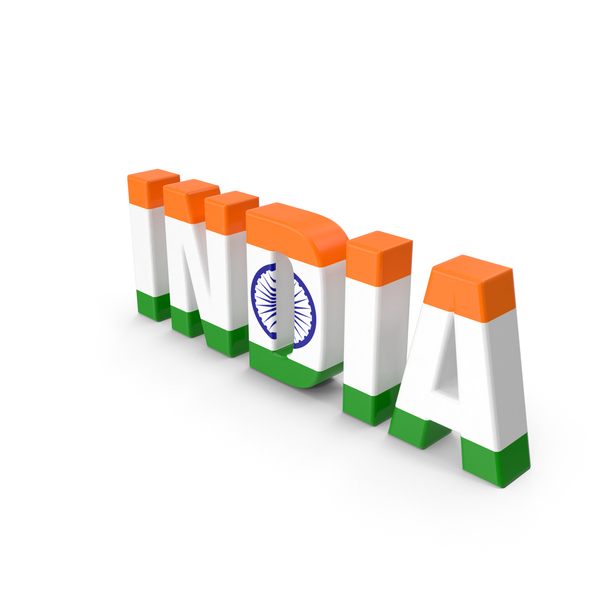 India Text PNG & PSD Images