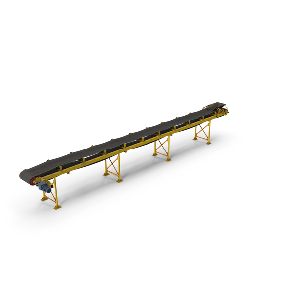Industrial Belt Conveyor PNG & PSD Images