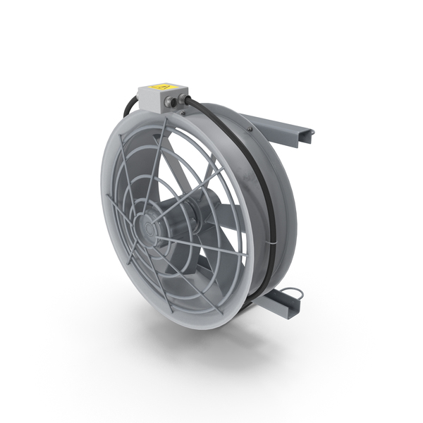 Industrial Fan Cooler PNG & PSD Images
