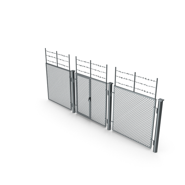 Industrial Fence PNG & PSD Images