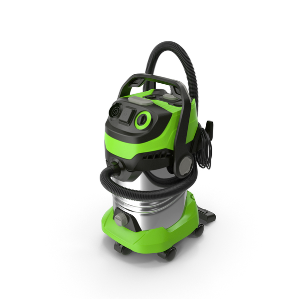 Industrial Multi-Purpose Vacuum Cleaner Folded PNG & PSD Images