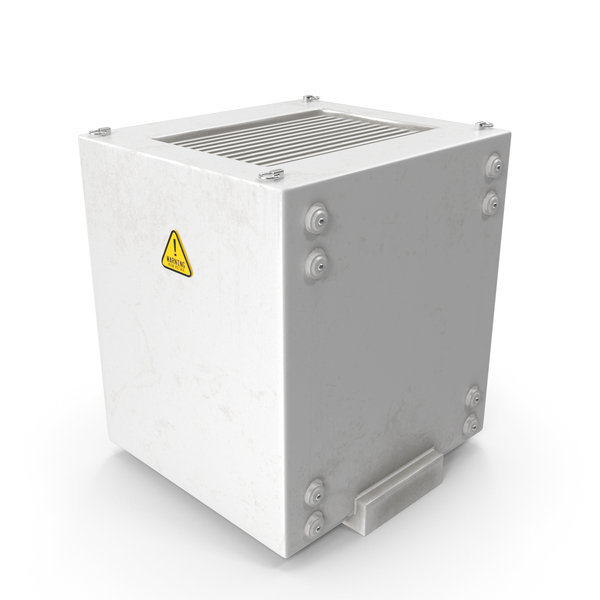 Industrial Rooftop AC Unit PNG & PSD Images